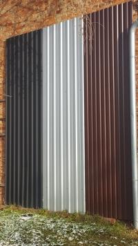 PLECHY - pro nízké sklony až do 12ti metrů vcelku
